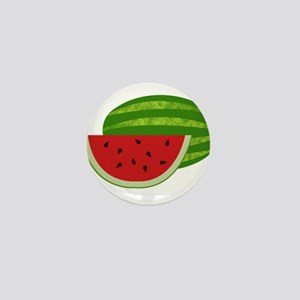 Summertime Watermelons Mini Button